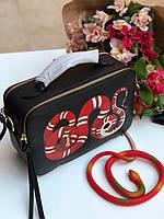 Стильная женская сумочка Gucci змея