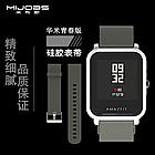 Ремешок MiJobs для Xiaomi Amazfit Bip Smartwatch White (Белый), фото 5