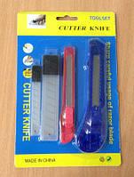 Набор канцелярских ножей с запасными лезвиями