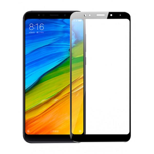 Защитное стекло 3D для  Xiaomi Redmi 5   (Black)