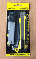 Нож канцелярский с запасными лезвиями Jianzhong