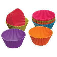 Набор силиконовых форм для кексов, 10 шт. 6 х 9 х 4,5 см