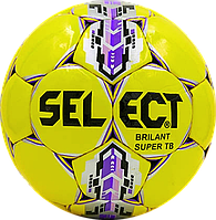 Футбольный мяч Select Brillant Super Жел./Фиол./Сер., фото 1