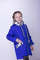 Куртка детская весенняя Тэффи (весна 2018) на девочку , электрик. От производителя
