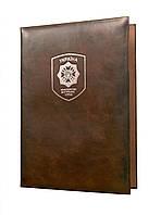 Папка адрес с гербом МВД