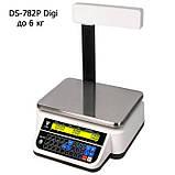 Весы торговые DS-782P Digi до 6 кг, фото 2