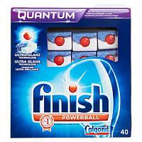 Calgonit Finish Powerball Средство для мытья посуды для посудомоечных  машин  712 г, 40 штук