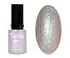 Гель лак Tertio 008, серо-золотые блестки перламутровый, 10мл