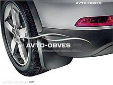 Брызговики оригинальные для Audi Q3 2015-... рестайл, задние 2шт