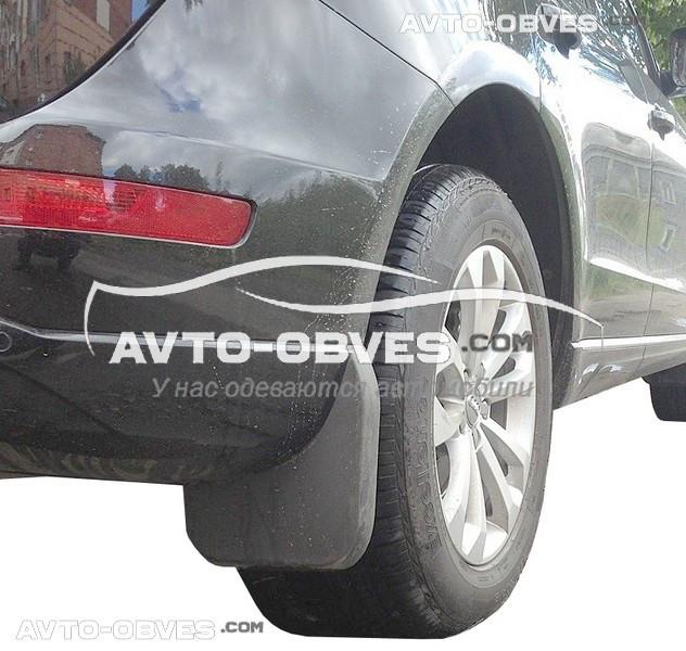 Брызговики оригинальные для Audi Q5 2008-2012 короткие, задние 2шт