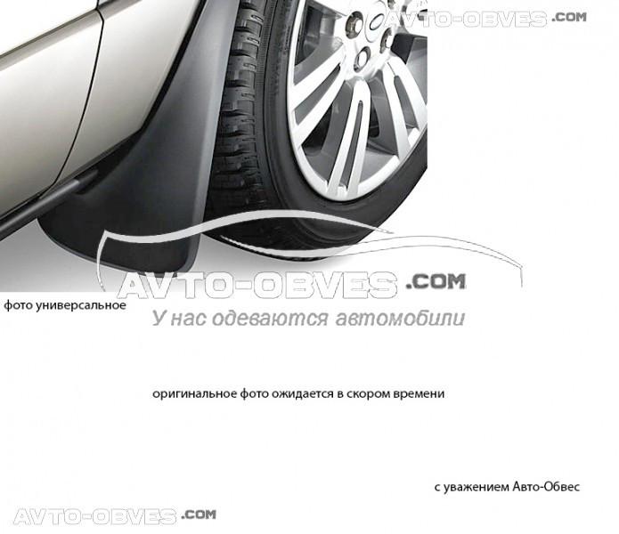 Брызговики оригинальные для Audi Q7 S-line 2015-.., задние кт. 2 шт