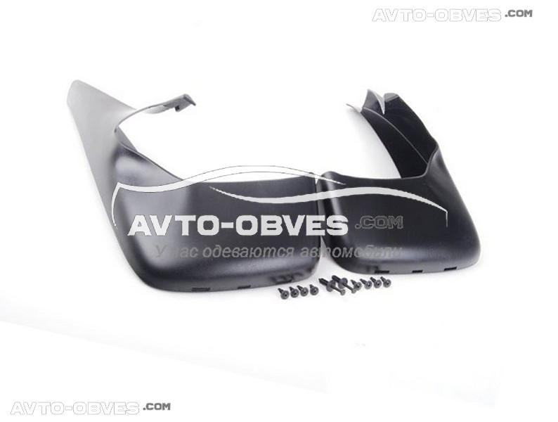 Брызговики оригинальные для BMW X5 E53 1999-2006, без порогов, передние 2шт