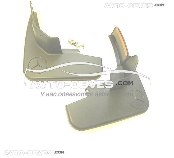 Брызговики оригинальные для Mercedes ML 164 2005-2012 (без порогов) передние, кт. 2 шт
