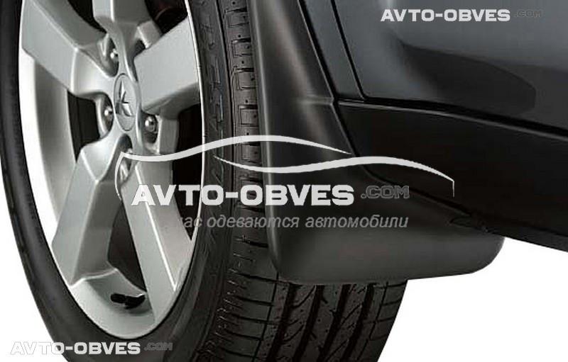 Бризковики оригінальні для Mitsubishi Outlander XL 2007-2010 передні, кт. 2 шт