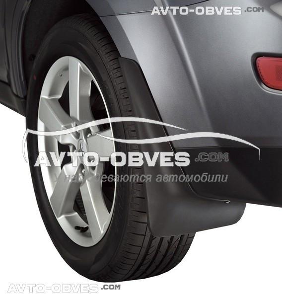 Брызговики оригинальные для Mitsubishi Outlander XL 2007-2010 задние, кт. 2 шт