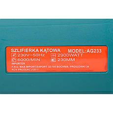 AL-FA болгарка  AG233 230MM  2900Вт, фото 3