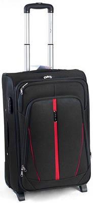 Тканевый малый чемодан Wings 1706 Vt00057 черный, 45 л — только ... 547977a191d