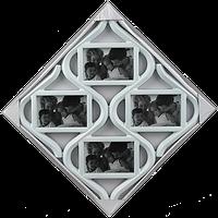 Мультирамка-ромб на 4 фотографии