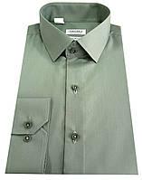 Рубашка мужская приталенная №10-12к. - DACRON 21
