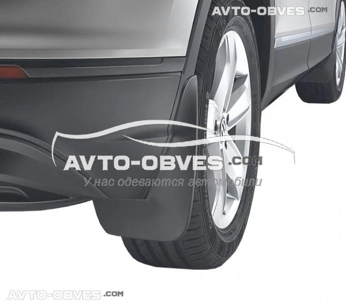 Брызговики оригинальные для Volkswagen Tiguan 2016-..., задние 2шт