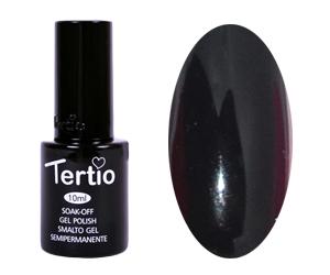 Гель лак Tertio 012, черный, 10мл