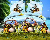Мадагаскар Детское постельное белье Полуторные комплекты