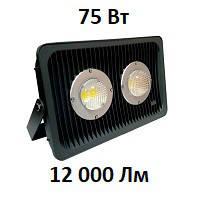 Уличный LED прожектор EcoPro 75 Вт 12000Lm светодиодный IP67, фото 1