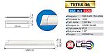 Світильник світлодіодний TETRA-36 ( 36Вт , 120см), фото 2
