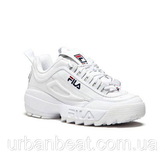 Женские кроссовки Fila Disruptor II White, фото 1