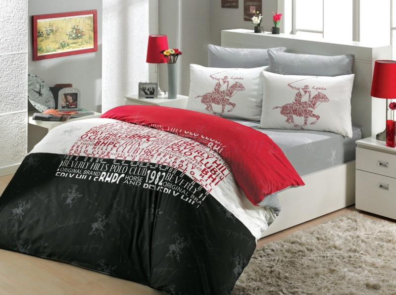 Комплект постельного белья Beverly Hills Polo Club 1108