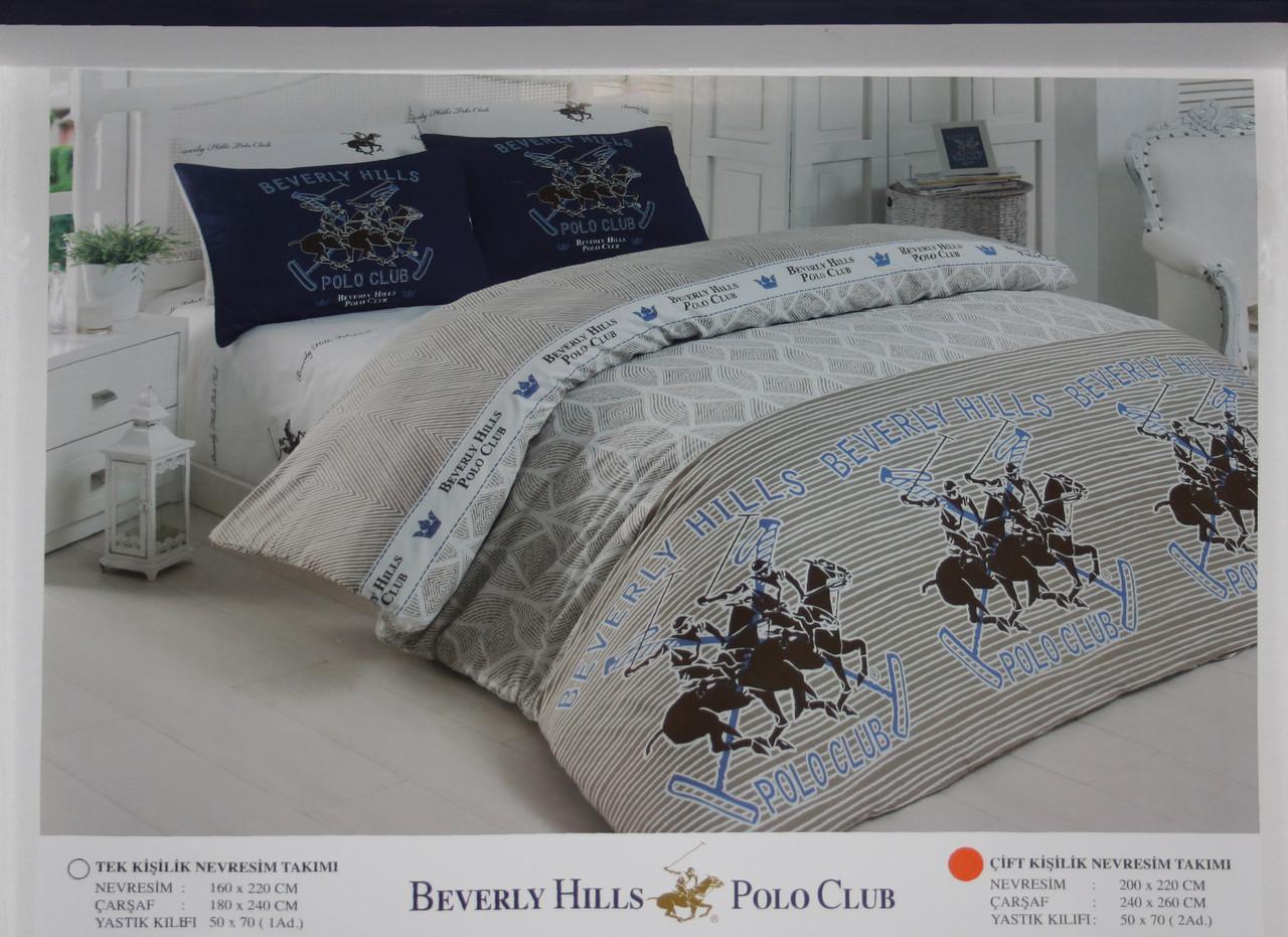 Комплект постельного белья Beverly Hills Polo Club 1109
