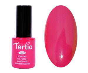 Гель лак Tertio 018, светлый пурпурно-розовый, 10мл