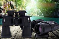Высококачественный бинокль Canon 20x50 с прорезиненным корпусом.