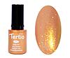 Гель лак Tertio 021, золотистый микроблеск, 10мл