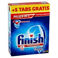Calgonit Finish Powerball Средство для мытья посуды для посудомоечных машин 1,128 г, 52 + 5 шт