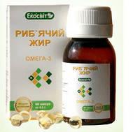 «Рыбий жир» кап.60-общеукрепляющее средство
