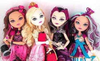 Ляльки ever after high, евер афтер хай, (mattel) базові ляльки