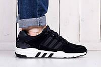 Кроссовки ADIDAS Equipment Support Adv адидас кроссовки черные -Замша,вставки кожи размеры: 41 -45 Вьетнам, фото 1