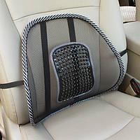 Ортопедическая спинка-подушка, масажор на кресло, офис, авто