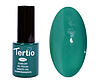 Гель лак Tertio 023, хвойно зеленый, 10мл