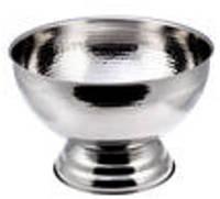 """Чаша""""HAMMERED""""нержавеющая круглая для пунша V 9300 мл (шт)"""