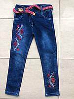Детские джинсы на девочку 3-6 лет , фото 1