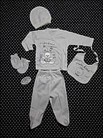 Комплект для крещения (мальчик) Little Bear от Golsen