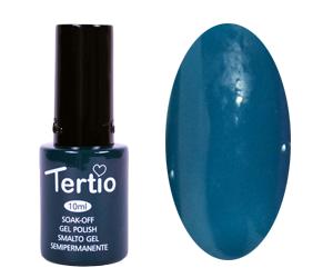 Гель лак Tertio 024, стальной синий, 10мл