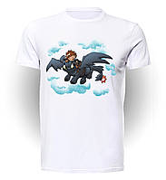 Футболка GeekLand Как Приручить Дракона How to train your dragon Sky TD.01.003