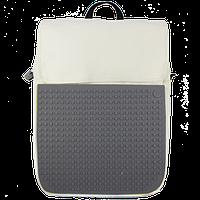 Рюкзак Upixel Fliplid-Бело-серый