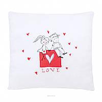 Подушка-валентинка Закохані