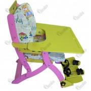 Стілець складний зі столом ССС -4 750/900х670/620х1040  Норма-трейд