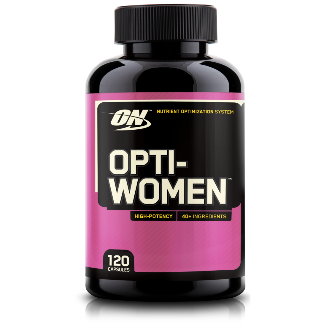 Витамины Optimum Nutrition Opti-Women 120 caps, Оптимум Опти-Вумен 120 капсул