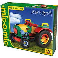 Пластмассовый конструктор Трактор (Tractor)  Mic-O-Mic (089.071)